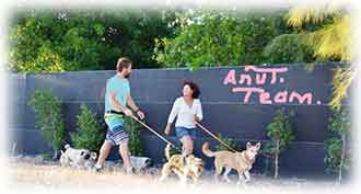 Anu Cat & Dog hotel team